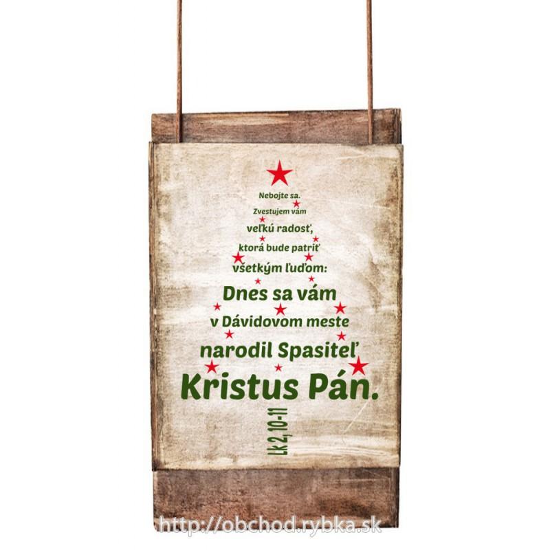 Nálepka na stenu Vianočný stromček