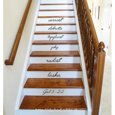 Na schody - láska, radosť, pokoj
