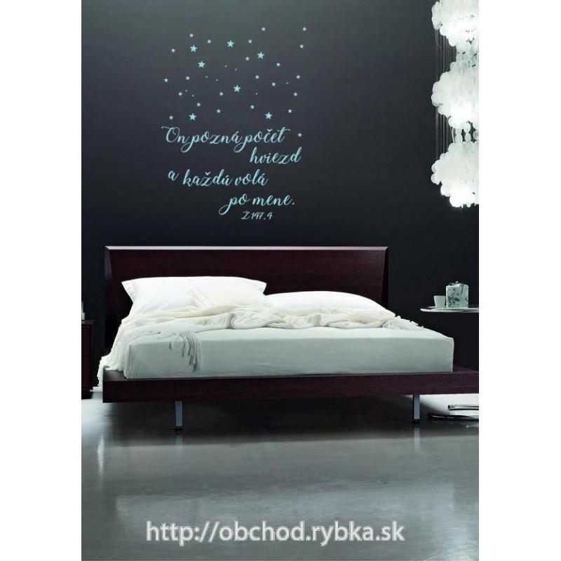 Nálepka na stenu Pozná hviezdy